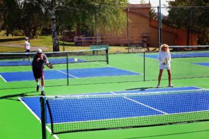 Enjoy playing Tennis