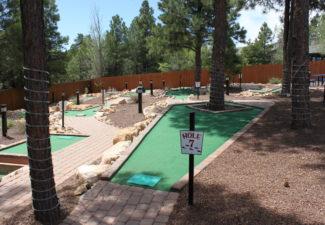 Miniature Golf Course in Flagstaff, Arizona