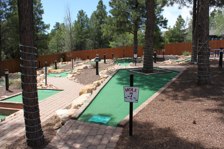 Miniature Golf Course in Flagstaff, Arizona