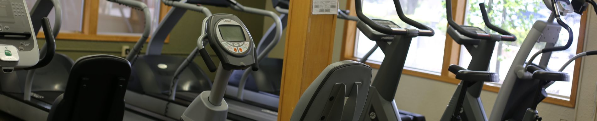 Get a great workout in our Fitness Room.
