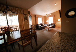 Enjoy a comfortable layout in our One Bedroom Deluxe Townhouse