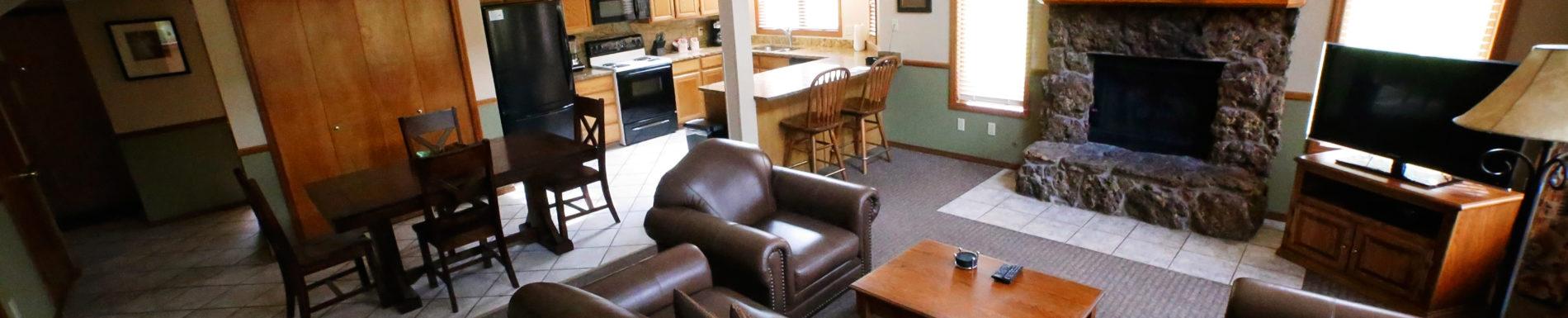 Two Bedroom Loft - Living Room 2