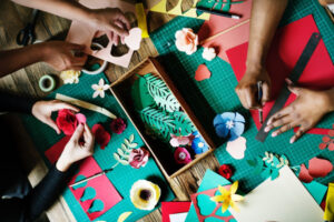 Childrens Arts and Crafts @ Bear Paw Clubhouse