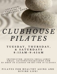 Clubhouse Pilates @ Continental Country Club